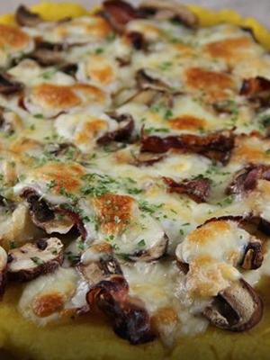 Пицца с грибами и ветчиной: простые рецепты