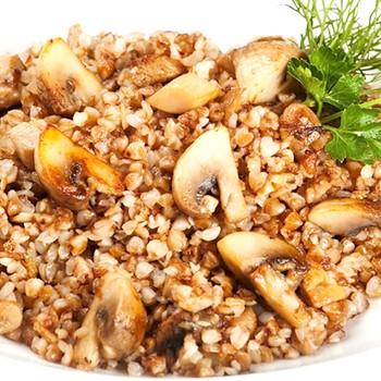 Гречка с шампиньонами: рецепты грибных блюд