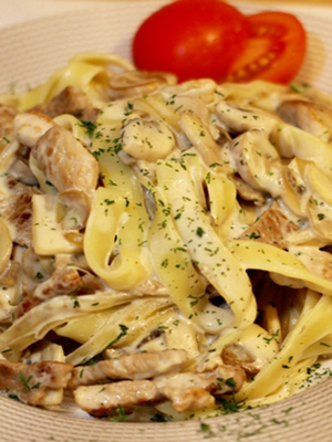 Паста с шампиньонами: рецепты грибных блюд