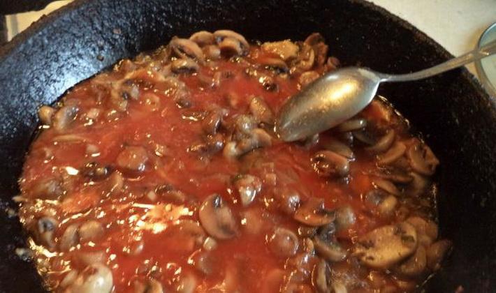 Соусы из замороженных грибов: домашние рецепты