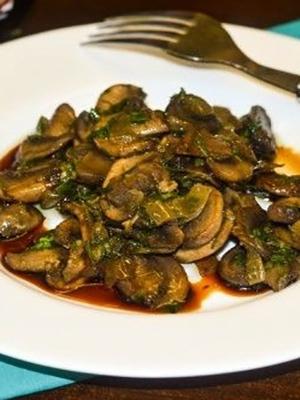 Рецепты блюд из грибов в соевом соусе