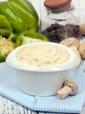 Приготовление соусов из замороженных грибов