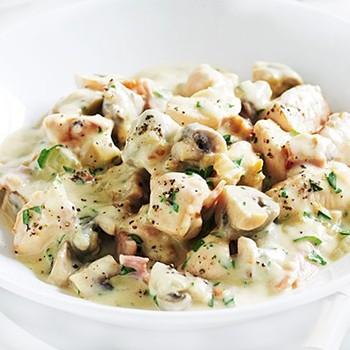 Блюда из курицы с грибами в сметанном соусе