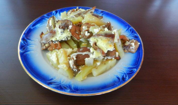 Грибные блюда из рыжиков