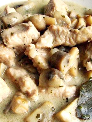 Индейка с шампиньонами: рецепты вкусных блюд