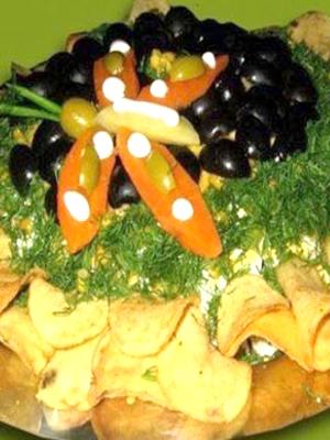 Салаты с рыжиками: рецепты закусок из грибов