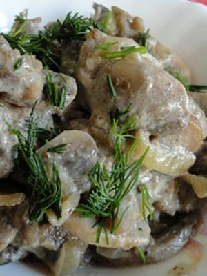 Рыжики в сметане: рецепты грибных блюд