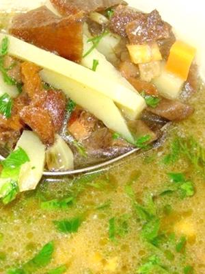 Куриная лапша пофранцузски с фрикадельками  кулинарный