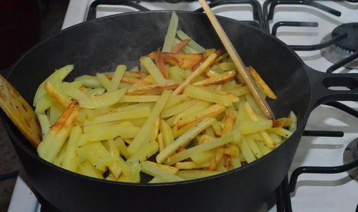 как готовить свежие опята для жарки с картошкой