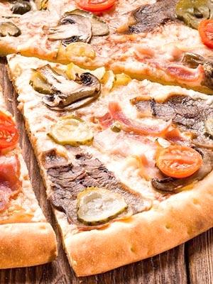Рецепты приготовления пиццы с грибами и сыром