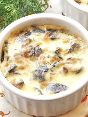 Жульен из лисичек: рецепты французской кухни