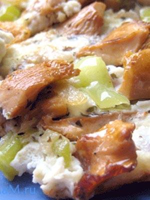 Блюда из свинины с лисичками