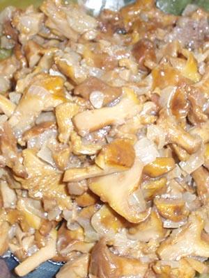 Соус из лисичек к любым блюдам