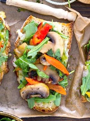 бутерброды с сырыми шампиньонами рецепты с соевым соусом