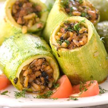 Вкусные блюда из шампиньонов с кабачками