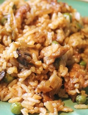 Плов с шампиньонами: грибные рецепты с рисом