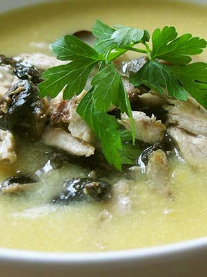 Куриные супы с шампиньонами: рецепты первых блюд