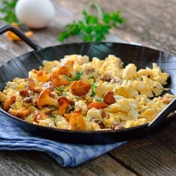 Блюда из свежих лисичек: рецепты приготовления