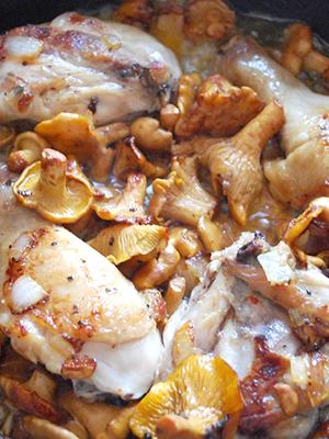 Грибные блюда из сушёных лисичек