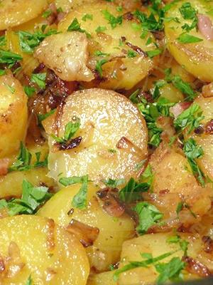 116Картошка с лисичками в духовке рецепт