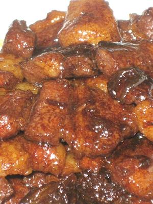 Блюда из шампиньонов в соевом соусе