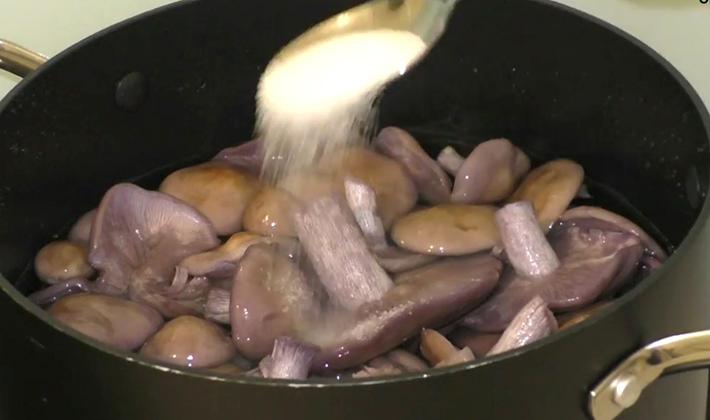 Как правильно готовить рядовку лиловоногую