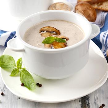 Крем-суп из белых грибов: рецепты первых блюд