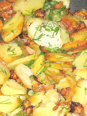 Грузди с картошкой: рецепты приготовления вкусных блюд