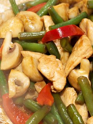 Шампиньоны с овощами: рецепты вкусных блюд