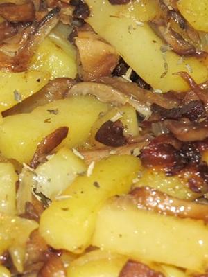 Блюда из подберезовиков с картошкой