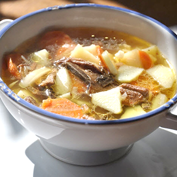 Суп из белых грибов свежих - пошаговый рецепт с фото