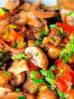 Рецепты блюд из жареных волнушек