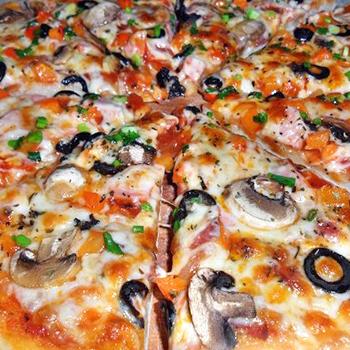 Рецепты грибной пиццы с шампиньонами