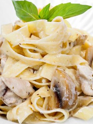 Рецепты блюд из спагетти и шампиньонов