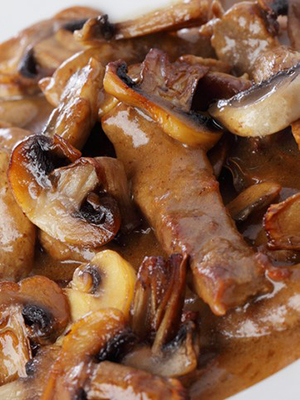 Говядина с шампиньонами: рецепты вкусных блюд