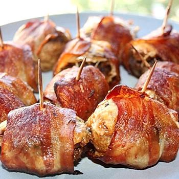 Шампиньоны с беконом: рецепты изысканных блюд