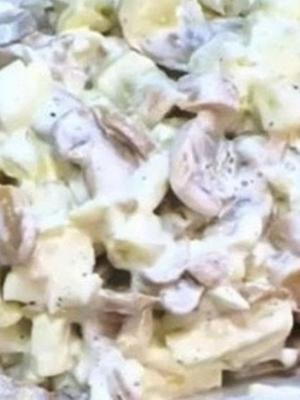 Салаты с шампиньонами и кукурузой: простые рецепты