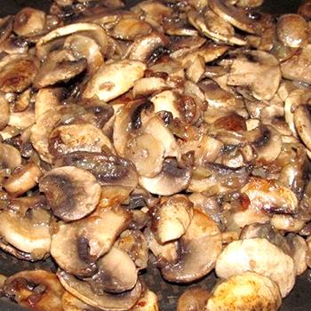 Блюда из шампиньонов с луком