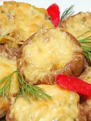 Шампиньоны, запечённые с сыром: рецепты аппетитных блюд