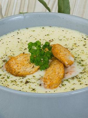 Крем-суп из шампиньонов: рецепты первых блюд