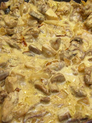 Курица с шампиньонами: домашние рецепты