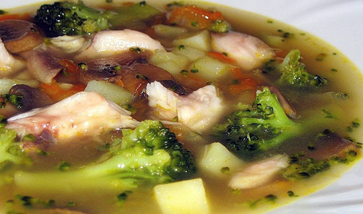 Сырные супы с шампиньонами: рецепты первых блюд