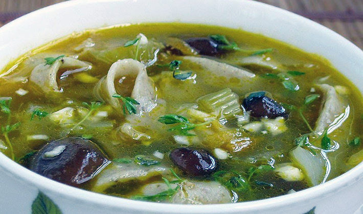 Сколько варятся шампиньоны в супе замороженные