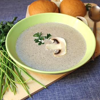 Сливочный суп из шампиньонов: рецепты первых блюд