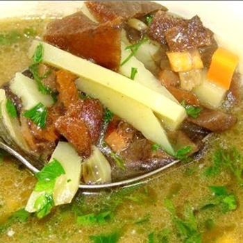 Рецепты приготовления супов из замороженных шампиньонов
