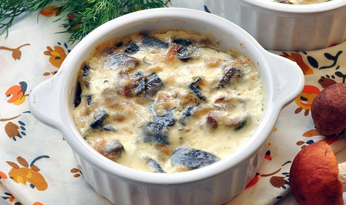 Сливочный соус с грибами в домашних условиях