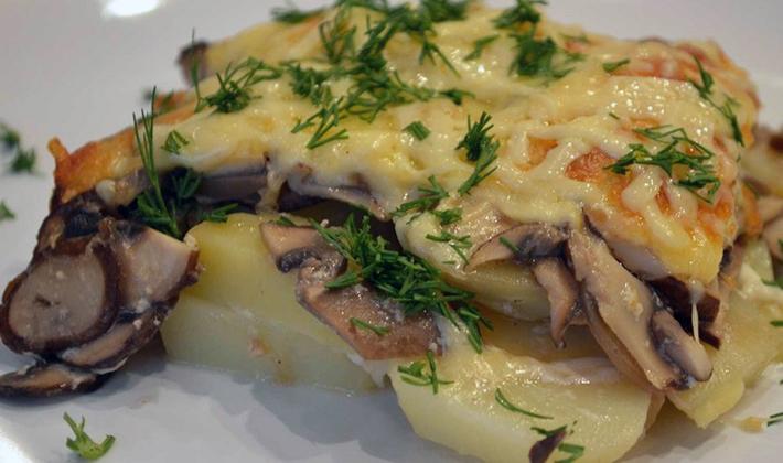 Рецепты приготовления мяса с грибами в соусе