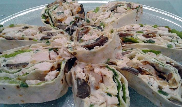 Блюда из шампиньонов с плавленым сыром