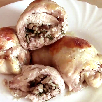 Блюда из шампиньонов с куриными ножками